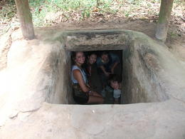 Photo of Ho Chi Minh City Cu Chi Tunnels Small Group Adventure Tour from Ho Chi Minh City Cu Chi Tunnel exit