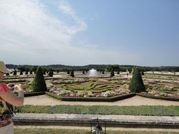 Just the very start of the Versailles gardens, Holly N - July 2010