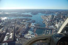 Photo of Sydney Sydney Harbour Tour by Helicopter View from the cockpit - Sydney by helicopter