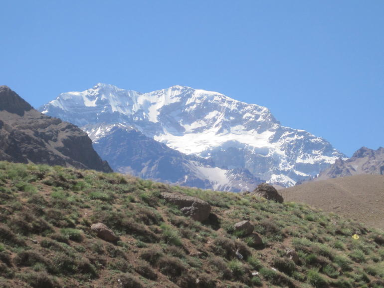 Aconcagua southside- tallest mountain in the americas - Mendoza