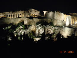 Photo of Athens Athens Half-Day Sightseeing Tour Acropolis by night