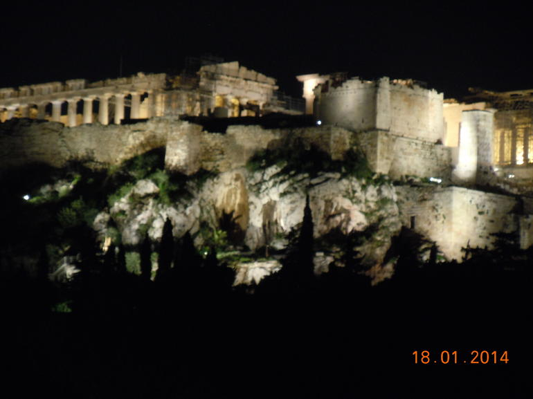 Acropolis by night - Athens
