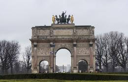Arc de Triomphe du Carroussel , Marilyn M - March 2014