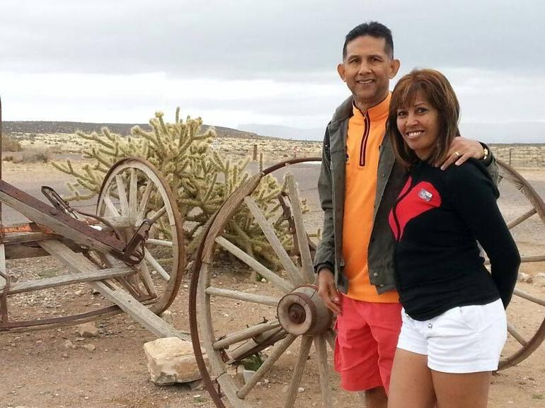 At Hualapai Ranch in the Grand Canyon - Las Vegas