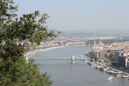 A View Along the Danube to Chain Bridge , Edward G W E - August 2013