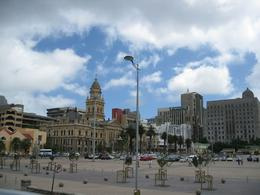 Taken from the Hop on Hop off bus. This is the square near to the Castle of Good Hope., Valerie P - October 2009