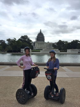 A totally fun and memorable way for this mother-daughter travel duo to see the DC sites! , Linda K - October 2015