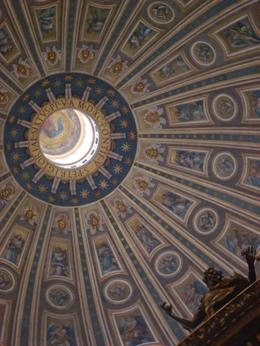 Photo of Rome Skip the Line Private Tour: Vatican Museums Walking Tour Ceiling