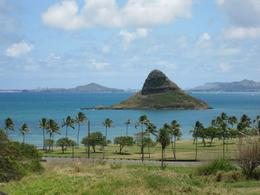 On our way to Kualoa Ranch, we saw China Man's Hat., Gerald S - May 2010