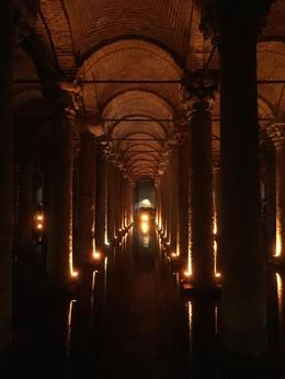 Under the old city are cisterns. Walk through and see Medusa. , Kim N - October 2014
