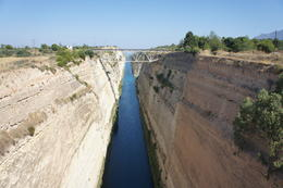 Corinth Canal , Isabel A - July 2011