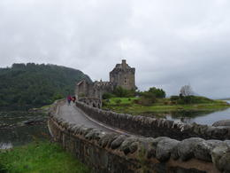 Scotland's most romantic castle: Eilean Donan. We went on a tour inside this castle. , Liv F - September 2014