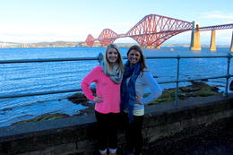 Forth Bridge , Brittany P - February 2014