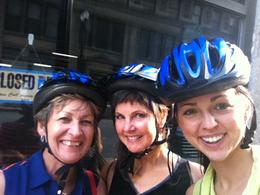 Getting ready for the Segway Tour in Chicago! Great Fun! , Doris F - August 2013