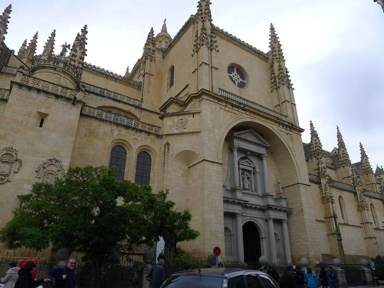 Gothic Cathedral in Segovia - Madrid