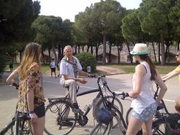 Photo of Valencia Valencia Bike Tour Including Tapas Jose leading us on the bike path