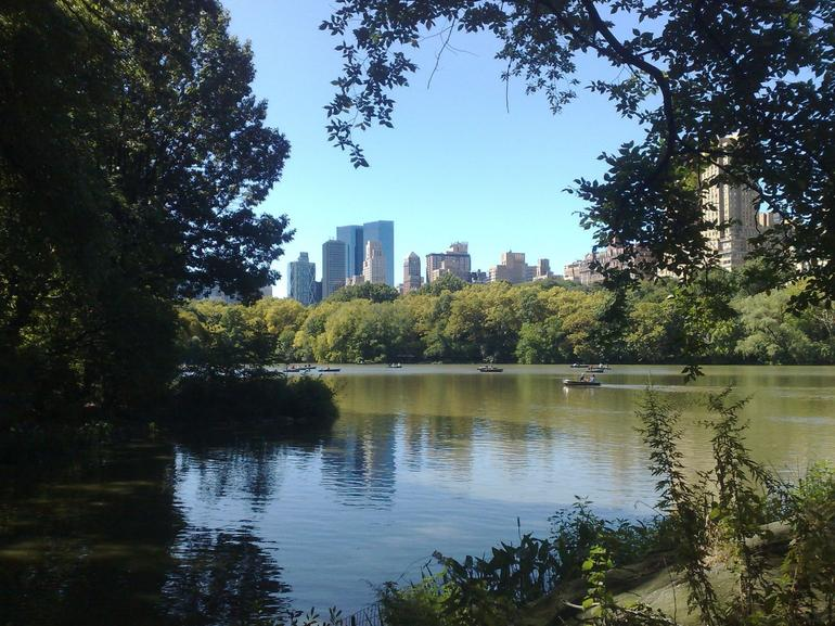 Lake in Central Park - New York City