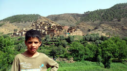 Photo of Marrakech Berber Trails 4WD Day Trip from Marrakech Local Berber Child