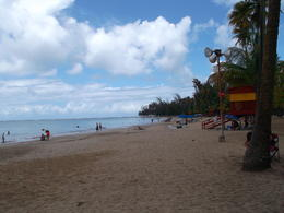 Photo of San Juan El Yunque Rainforest and Luquillo Beach from San Juan Luquillo Beach