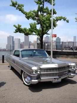 Our Cadillac parked at Brooklyn Heights , E A P - June 2013
