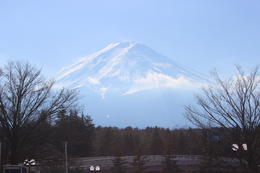 Mt Fuji from a distance. , Elizabeth H - January 2014