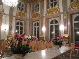 Classical concert inside Schloss Mirabell's Marble Hall - May 2013