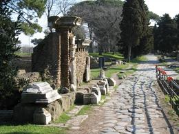 This was the gate that marked the official entry into the ancient city, though not the ruins. Outside of the gate there is a necropolis as was the custom in those times., Gail A - March 2009