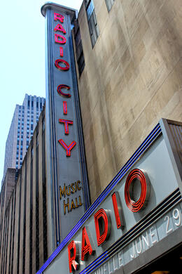 Photo of New York City Small-Group Photography Walking Tour of NYC Radio City Sign