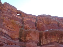 The beautiful sandstone around the Red Rock Amphitheater. , Ceej - March 2015