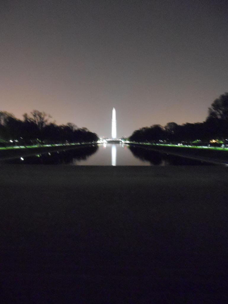 Reflecting in the Reflecting Pool - Washington DC
