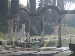 Photo of Rome Hadrian's Villa and Villa d'Este Half-Day Trip from Rome Reproduction of original statues