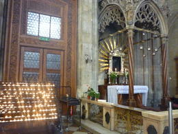 Inside of St Stephen's Cathedral, Irene - October 2013