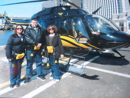 I took my son, with my mum, to New York, and took the helicopter flight, it was amazing, highly recommended :D , Pamela H - April 2013