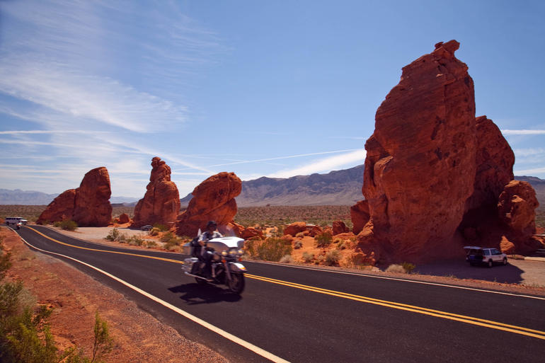 Valley of fire --The 7 sisters - Las Vegas