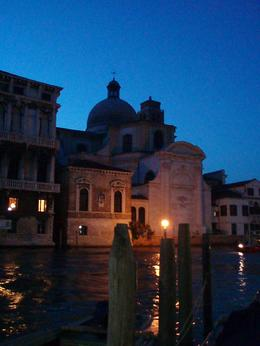 The Grand Canal in Venice at nighttime, Heather T - June 2009