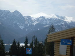 What a beautiful view across the Tatras , Robert T - April 2013