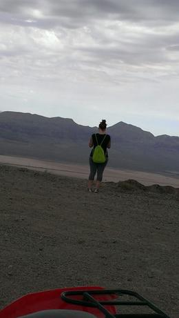 Photo of Las Vegas Hidden Valley ATV Half-Day Tour from Las Vegas View from my dune buggy