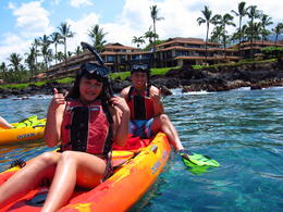 Photo of Maui Paddle, Snorkel and Learn to Surf - All in a Day on Maui 04-11-2012 Riveong 039
