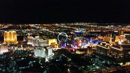 Las Vegas view, Eric - October 2015