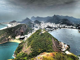 Photo of   Bird's eye view of rio!