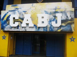 Entrance to the Boca Juniors stadium., Bandit - June 2012