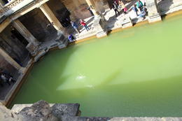 This is the and quot;Bath and quot; that the Romans enjoyed during their time here and has been preserved until now. , Pedro L - May 2013