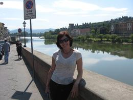 Florence: Near the Ponte Vecchio, Donna L - June 2010