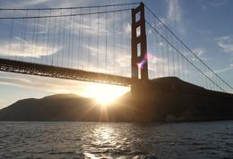 Photo of San Francisco San Francisco Bay Sunset Catamaran Cruise Golden Gate Bridge