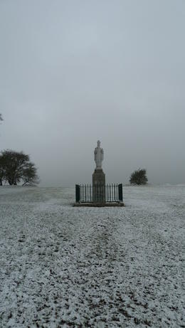 Snow at the and quot;Hill of Tara and quot; , Walt - March 2013
