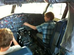 Future pilots , Sally S - July 2012
