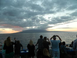 A view across the water to Lanai. , Richard L - February 2013