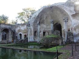Remains of the baths., Stephanie M - December 2007