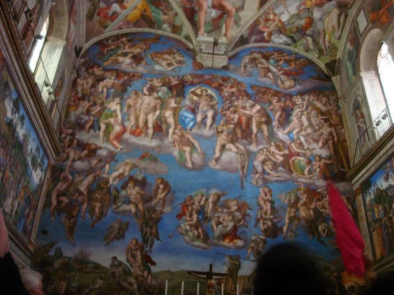 Michelangelo's Last Judgement, Sistine Chapel - Rome