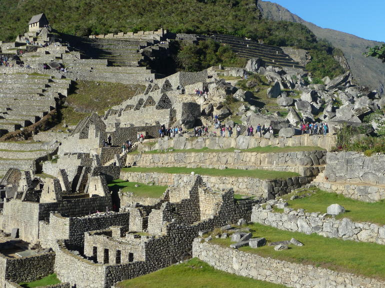 More of the complex - it's pretty extensive and carefully planned - Cusco